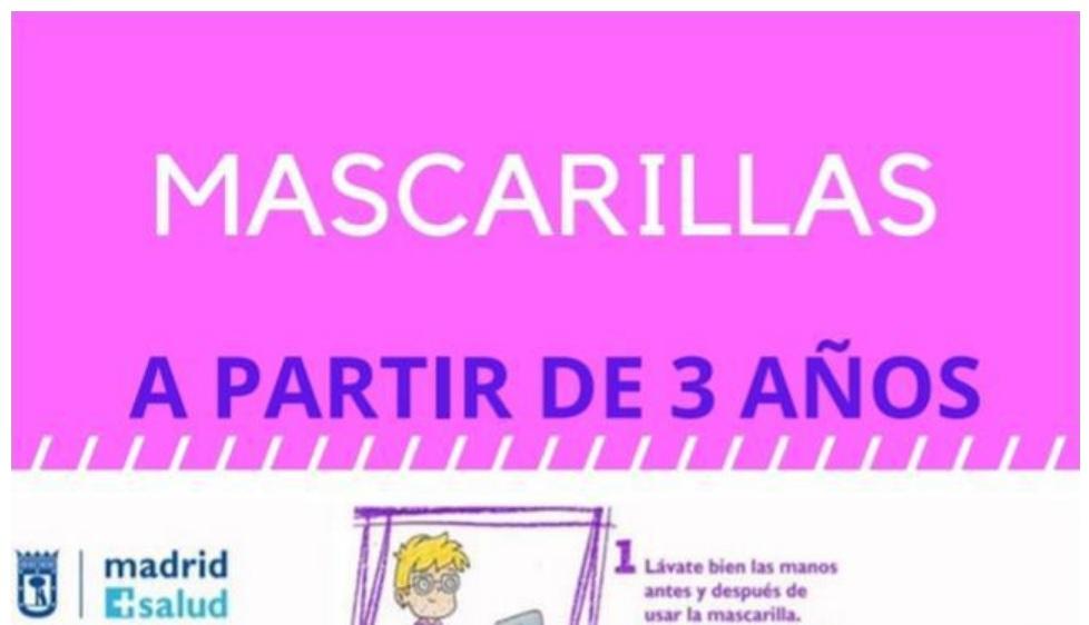 COVID-19 : CONSEJOS PARA USAR CORRECTAMENTE LA MASCARILLA